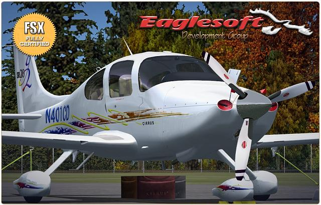 Eaglesoft Free Upgrade to FSX Cirrus SR20G2!