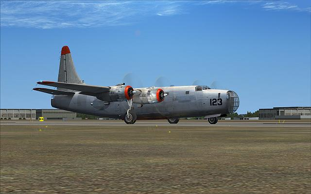 Consolidated-Vultee PB4Y-2 Privateer, Airtanker 123 (FSX)