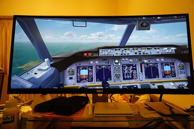 Quick Review of 21:9 Dell Ultrawide Monitor with FSX