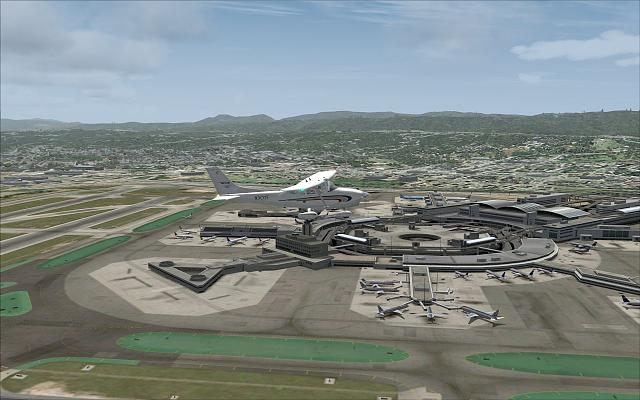 Fly-Tampa San Francisco and a bit of Cloud9 KLAX
