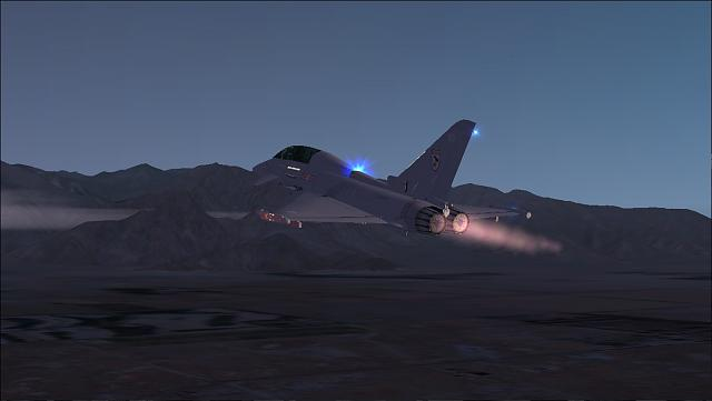 AlphaSim Eurofighter Typhoon Afterburner not working