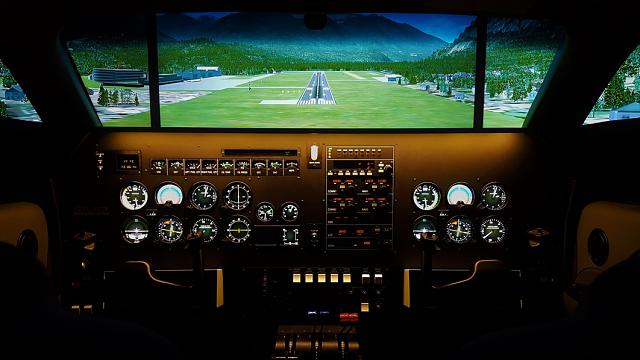SEP / MEP Immersive Flight Simulator for Sale - Also available
