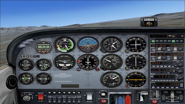 Looking for Cessna 172 with constant speed propeller control