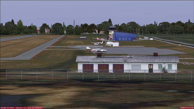 Got The Free orbx EDCG to Show With Buildings!