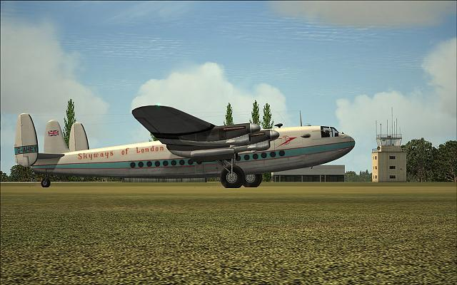 """From One Grass Strip To Another: Avro York """"Skyways Of London"""""""