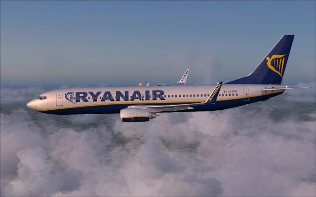 Ryanair 737-800 - Flight Stansted to Malaga