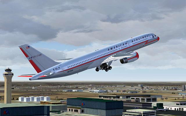 American 757 Classic Livery