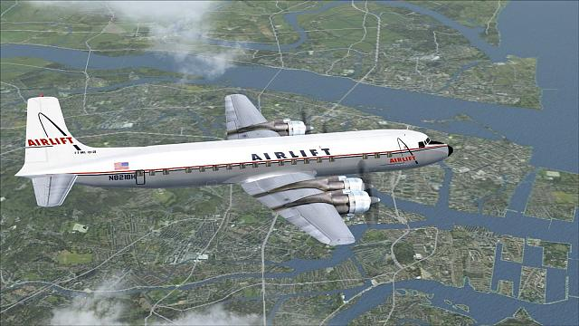 Click image for larger version.  Name:Airlift DC-7CF.jpg Views:22 Size:349.1 KB ID:209272