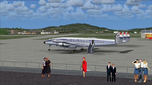 Click image for larger version.  Name:Lockheed L-1049G Super Connie_KLM_02.jpg Views:23 Size:332.3 KB ID:210738