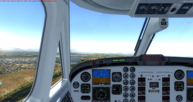 Click image for larger version.  Name:7 Start of Downwind to KLMT.jpg Views:15 Size:282.9 KB ID:219725