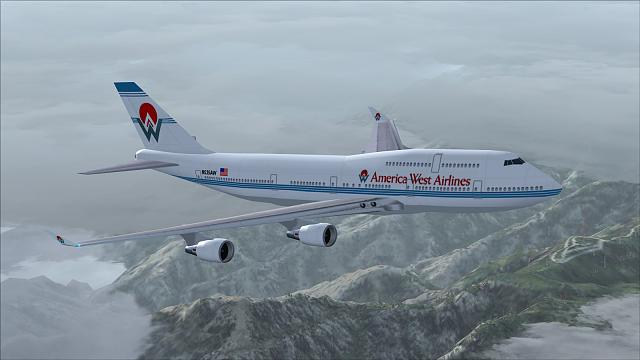 Click image for larger version.  Name:B747-400 America West_05.jpg Views:23 Size:325.6 KB ID:220049