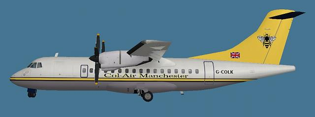 Click image for larger version.  Name:Arospatiale ATR200-400 Col-Air paint.jpg Views:11 Size:61.4 KB ID:212020