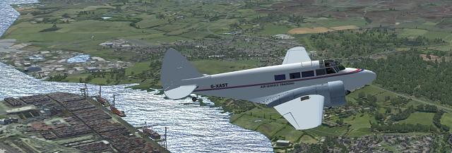 Click image for larger version.  Name:Airspeed Consul AST Over Southampton.jpg Views:26 Size:175.2 KB ID:211531