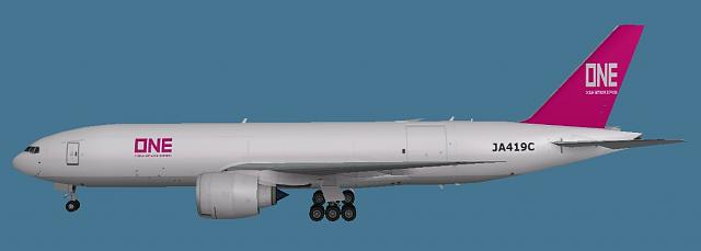 Click image for larger version.  Name:Boeing 777-200LR Ocean Network Express paint.jpg Views:18 Size:43.4 KB ID:210580