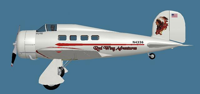 Click image for larger version.  Name:Lockheed Orion 9 Red Wing Adventures paint.jpg Views:16 Size:68.3 KB ID:210588