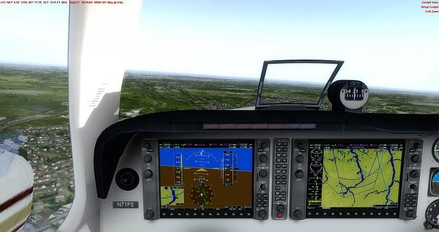 Click image for larger version.  Name:7 Low Fuel!  Heading to Southamptom EGHI to fill up.jpg Views:53 Size:317.8 KB ID:219336