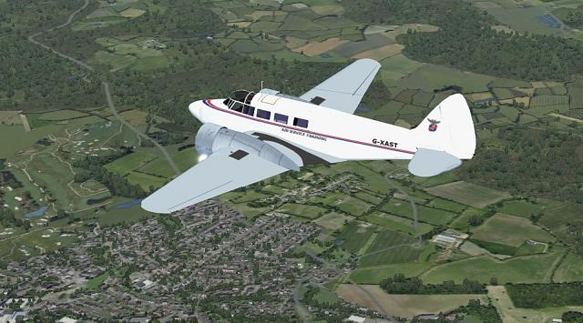 Click image for larger version.  Name:Airspeed Consul AST Flight.jpg Views:33 Size:208.0 KB ID:211532
