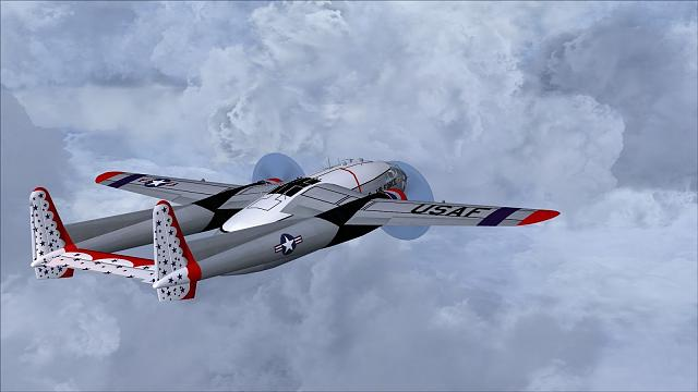 Click image for larger version.  Name:USAF C-119F Thunderbirds.jpg Views:8 Size:171.2 KB ID:212768