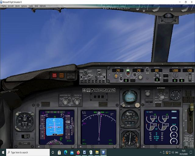 Click image for larger version.  Name:3. Autopilot engaged - Aircraft Cleaned Up - Note the high nose up 2.jpg Views:22 Size:191.7 KB ID:224044
