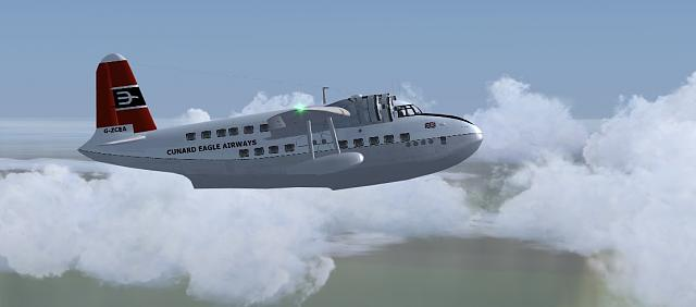 Click image for larger version.  Name:Shorts Sandringham Cunard Eagle Airways climb.jpg Views:12 Size:71.8 KB ID:212483