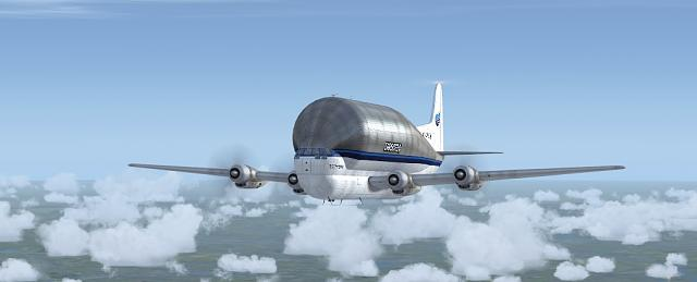 Click image for larger version.  Name:Boeing B377 Guppy Flight2.jpg Views:17 Size:64.9 KB ID:208493