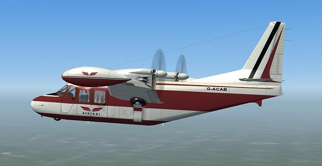 Click image for larger version.  Name:Piaggio P166 Ait Taxi 1.jpg Views:23 Size:77.5 KB ID:226916
